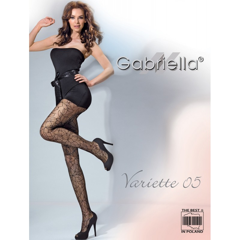 Collants fantaisie Variette 05 Gabriella Lingerie mon amour