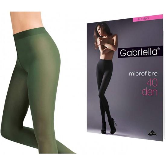 Collants kaki micro Gabriella Lingerie mon amour