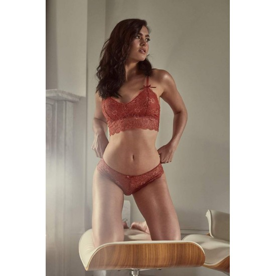 Soutien-gorge triangle sans armatures Wolf and Whistle Lingerie mon amour