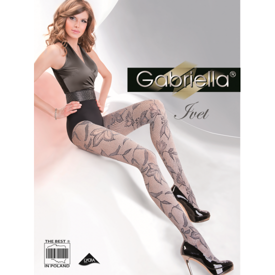 Collants fantaisie Ivet Gabriella Lingerie mon amour
